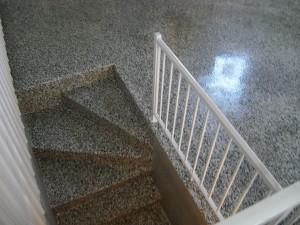 Rev tement d 39 poxy pour escalier for Revetement d escalier interieur