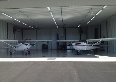 Revêtement de plancher | Hangar d'avion
