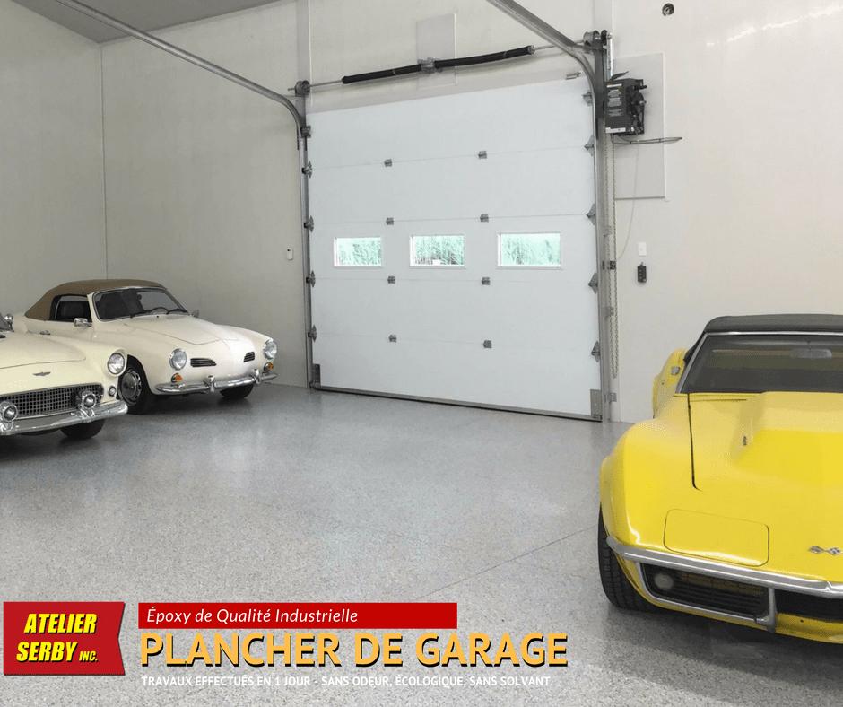 Plancher poxy pour garage - Plancher chauffant pour garage ...