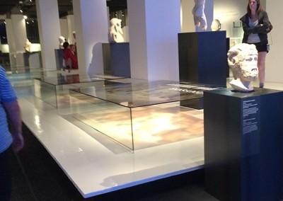 Plateforme époxy musée de la civilisation