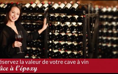 Comment un recouvrement de plancher d'époxy peut protéger votre réserve de vin?